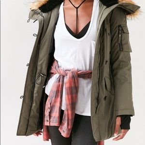 Down-filled Parka Urban Outfitters